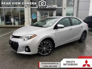 2016 Toyota Corolla S  SUNROOF-HEATED SEATS-BACK UP CAM