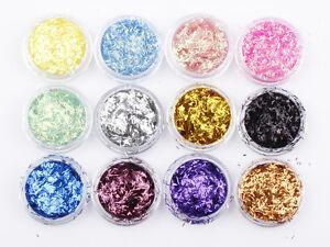 Glitter-Pots-Choose-Colour-Chunky-Diamonds-Strip-Tinsel-Nail-Art-Holographic