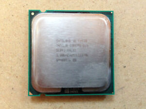 PROCESSEUR CORE 2 DUO de 3 ghz SOCKET 775