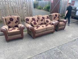 19. 2+1+1 material sofa