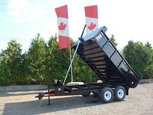 Miska 6 Ton Deckover Dump Trailer - Proudly Canadi