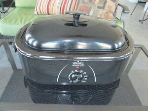 RIVAL OVEN ROASTER 17 QUARTS LIKE NEW