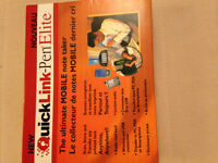 QuickLink-Pen Elite: Scan, Store, & Transfer Printed Text.  New!