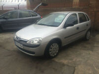 2002/52 Vauxhall Corsa 1.0i 12v Life 5dr hb ONLY 70053 Miles Ideal 1st Car £1395