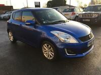 2016 Suzuki Swift SZ4 DUALJET Petrol blue Manual