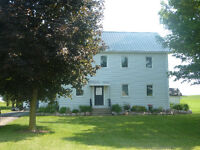 Farm house for Rent available September 1st.