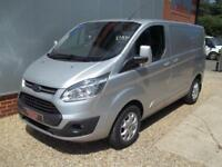 £ 59 A WEEK - 2014 FORD TRANSIT CUSTOM 2.2 LIMITED SWB VAN FULL FORD S HIST A/C