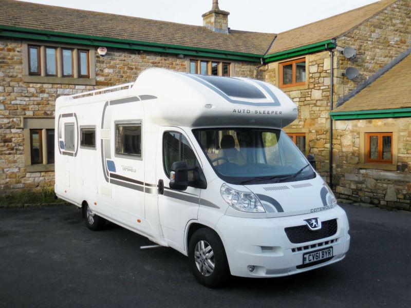 Original 2011 61 PLATE AUTOSLEEPER COTSWOLD 440 FB MOTORHOME 7000 MILES FSH LONG MOT   In Accrington ...