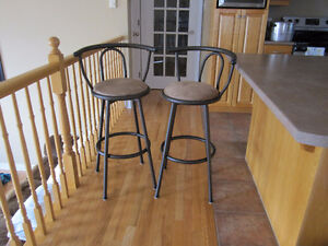 2 Stools for your kitchen Island