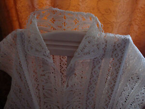 New lin lace top