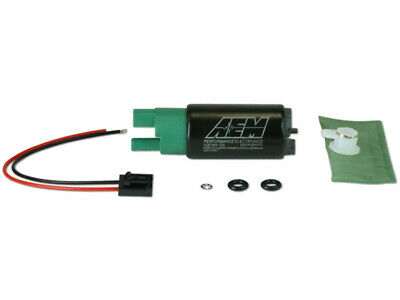 AEM 50-1220 HIGH FLOW E85 FUEL PUMP UNIVERSAL 340 LPH @ 40 PSI up to 1000HP 65mm