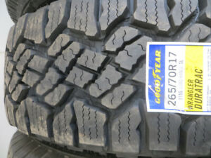 265/70R17 NEW GOODYEAR DURATRAC ON SALE $213.00 EACH