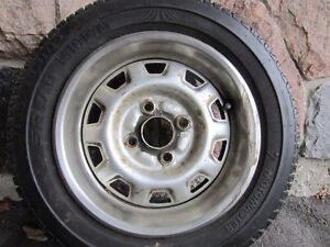 Motomaster 13 inch tire and rim