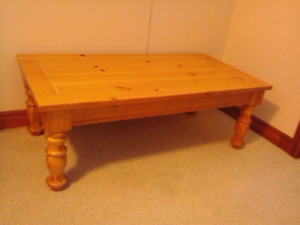 Coffee table, solid pine
