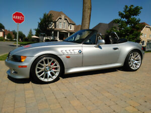 BMW Z3 1997, manuelle 6 cyl 2.8L, roadster convertible