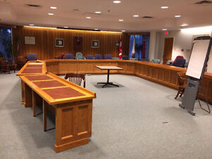 COUNCIL CHAMBER SET UP London Ontario image 1