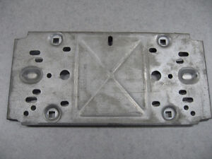 GM Trans Am Vintage NOS Front License Plate Bracket \ Holder London Ontario image 4