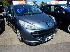 Peugeot 207 1.4 Sport 5 Door - 67'000 miles FINANCE FROM ONLY £17 PER WEEK!