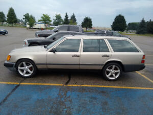 1987 Mercedes 300 TD Wagon, Certified, runs great, starts easy,