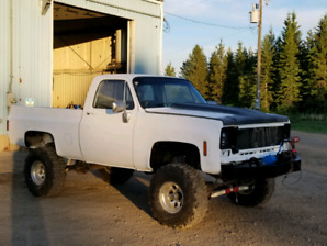 78 gmc bogger will trade for sled