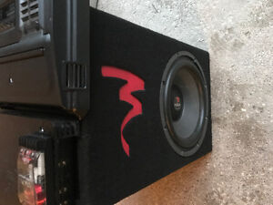 Focal Subwoofer and AMP