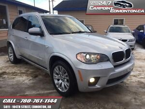 2011 BMW X5 XDRIVE M35i ....TWIN TURBO...LOADED...ONE OWNER  ONE