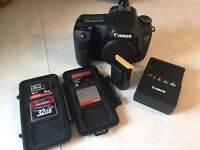 Canon 7D Body and Extras