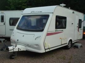 Elddis Mayfair 452 2 Berth End Washroom Touring Caravan