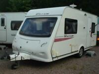 Elddis Mayfair 452 2 Berth End Washroom Touring Caravan