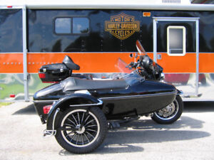 Authentic Harley-Davidson Sidecar