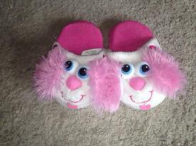 Girls Stompeez slippers size S