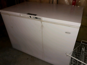 2 chest freezers - low hours