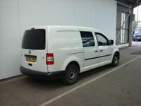 2012 VOLKSWAGEN CADDY MAXI C20 TDI 102 KOMBI 5 SEAT CREW VAN COMBI VAN DIESEL