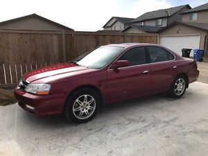 Excellent condition 2002 acura well maintained