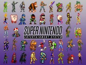 searching for Super Nintendo games!