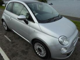 2011 Fiat 500 1.2 Lounge (s/s) 3dr