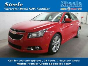 "2013 Chevrolet CRUZE LT Turbo RS 18"" Alloys"