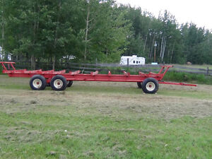 2008 Horst  Pull Type Bale Wagon for Round Bales
