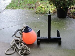 River Anchor with Bouy and Rope