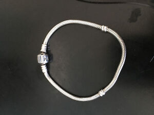 Pandora Braclet and Charms