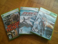 3 Games For Xbox 360 For Sale