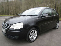 05/55 VOLKSWAGEN POLO SPORT 1.9 TDI 3DR HATCH IN MET BLACK