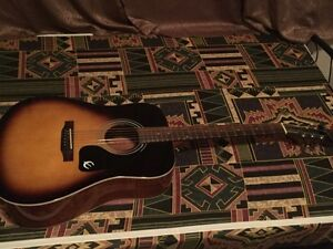 Acoustic guitar Epiphone