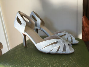Le Chateau Silver Shoes