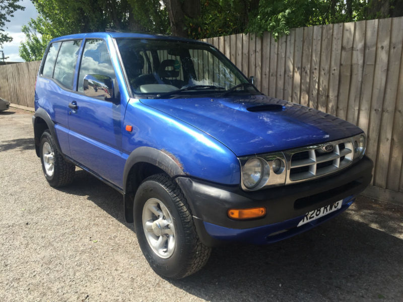 1997 r ford maverick 2 7td swb gls 3 door 4x4 2wd 4wd 107k 32 1 mpg p x in hinckley. Black Bedroom Furniture Sets. Home Design Ideas