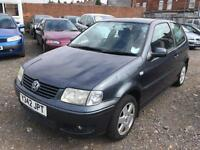 2001/Y Volkswagen Polo 1.4 75bhp FULL MOT EXCELLENT RUNNER