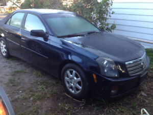 Parting out 2005 Cadillac cts