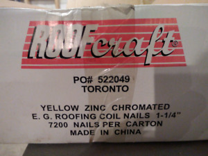 Roofing Coil Nails