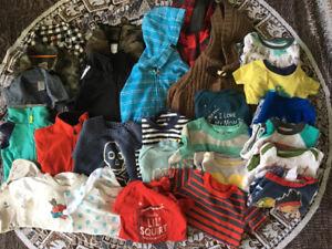 Toddler boys clothing lot