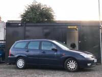 * * 2002 FORD FOCUS ESTATE + LONG MOT + 2 OWNERS FROM NEW * *